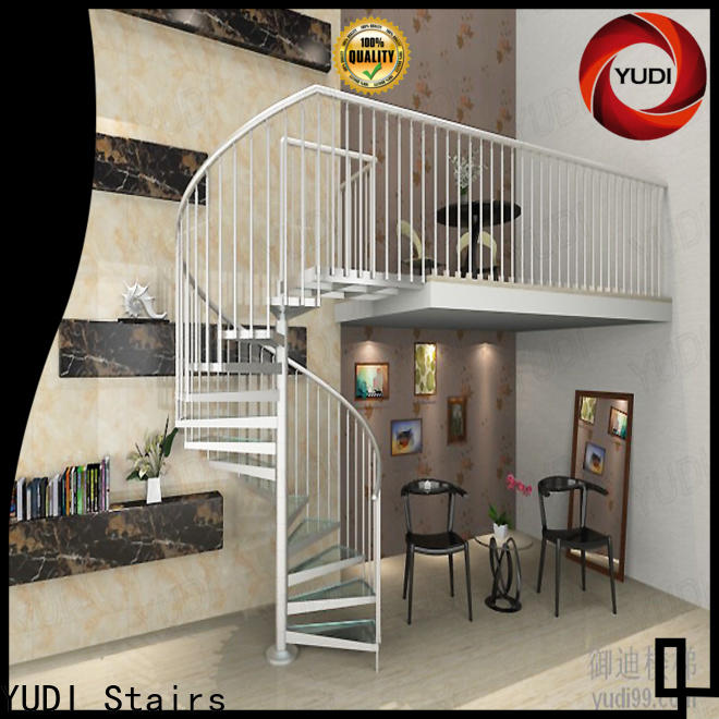Custom arke spiral staircase for aprtment