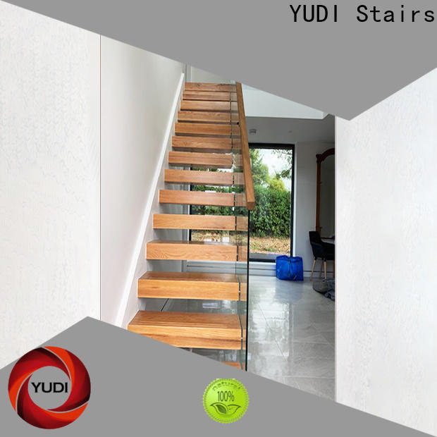 YUDI Stairs floating treads manufacturers for villa