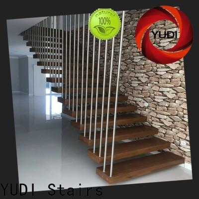 YUDI Stairs floating treads suppliers for office building