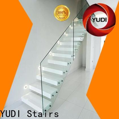 YUDI Stairs floating spiral staircase supply for villa