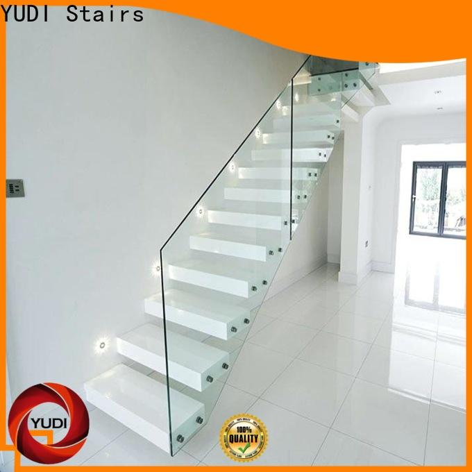 New building floating stairs factory price for office building