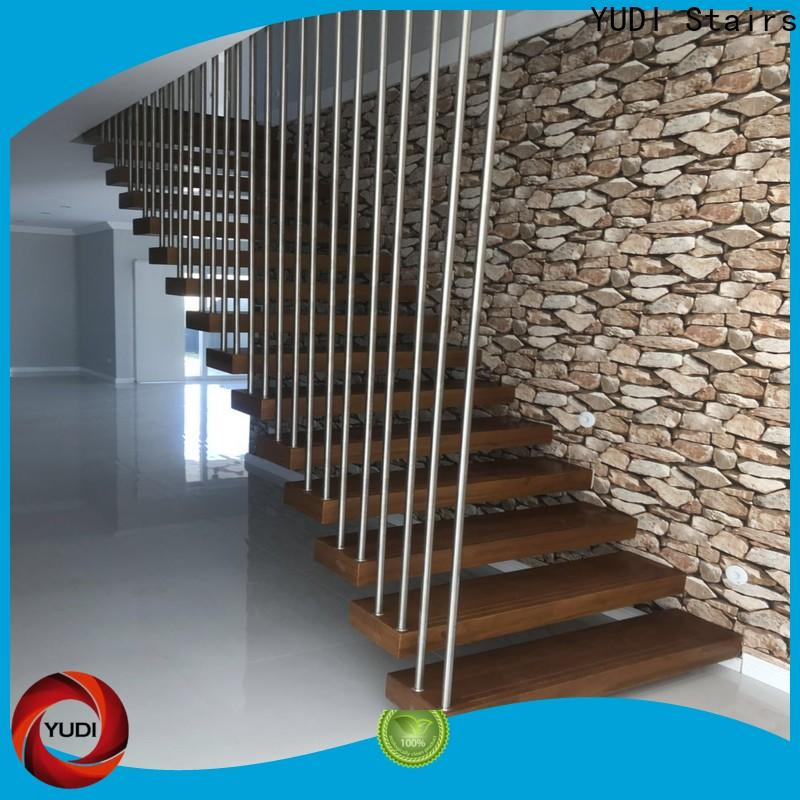 Quality floating spiral staircase cost