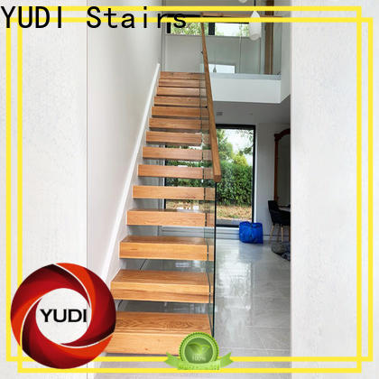 YUDI Stairs floating staircase cost suppliers for villa