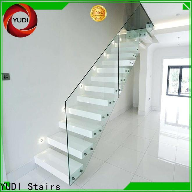 YUDI Stairs floating stairs design company for apartment