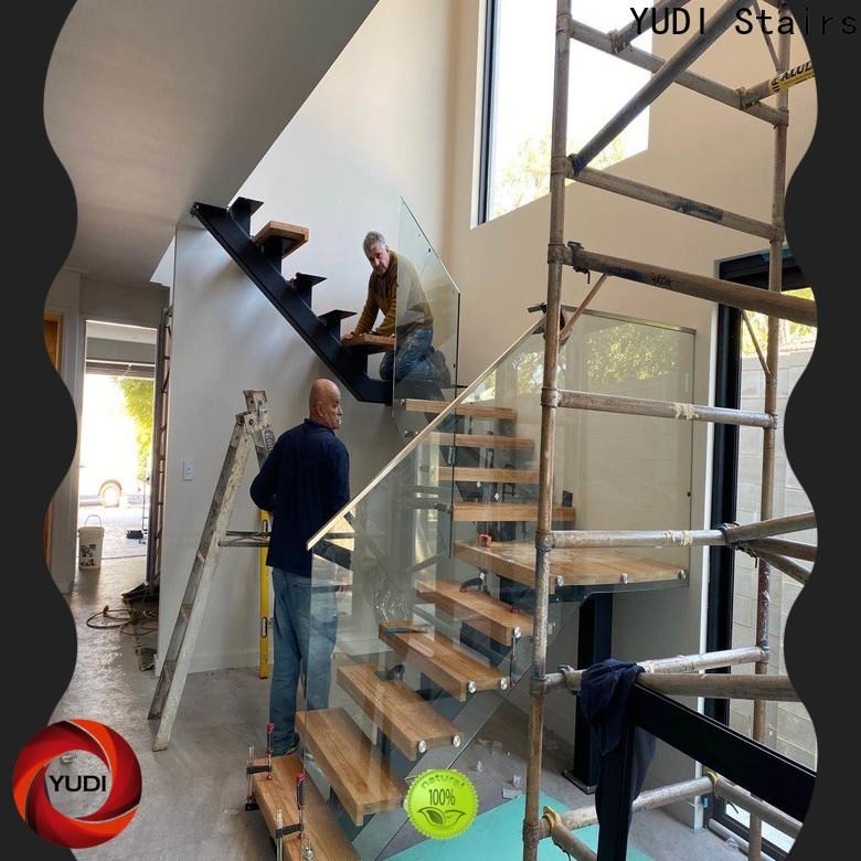 Quality residential stairs price for commercial use