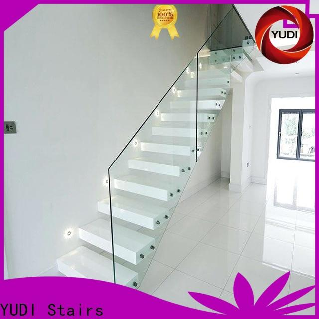 YUDI Stairs floating spiral staircase cost for villa