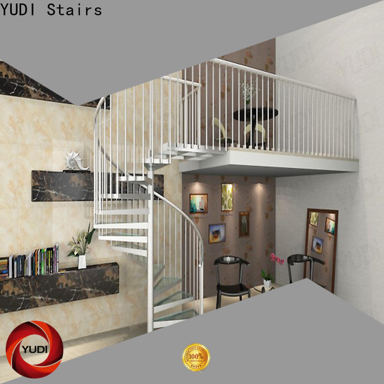YUDI Stairs Custom made custom spiral staircase price for indoor