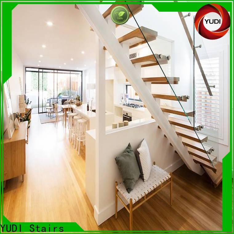 YUDI Stairs straight staircase company for commercial use