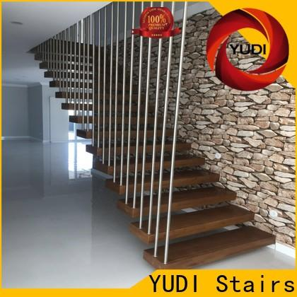 YUDI Stairs High-quality floating treads price for apartment