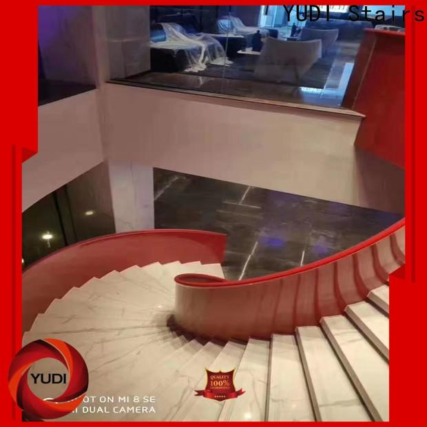 YUDI Stairs Quality custom curved stairs wholesale for aprtment