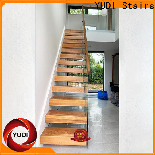 YUDI Stairs floating treads factory for office building
