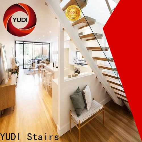 Customized straight staircase cost for commercial use