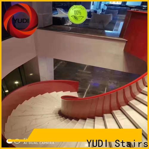 YUDI Stairs curved staircase price for aprtment