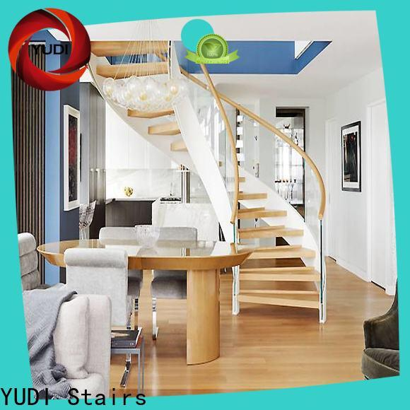 YUDI Stairs Customized half round stairs supply for house