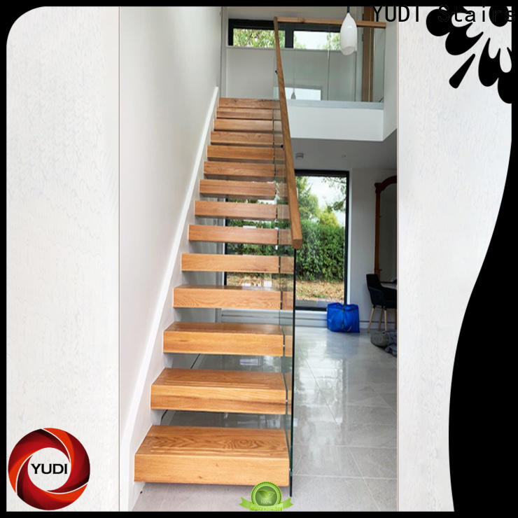 YUDI Stairs Custom made floating staircases suppliers for villa