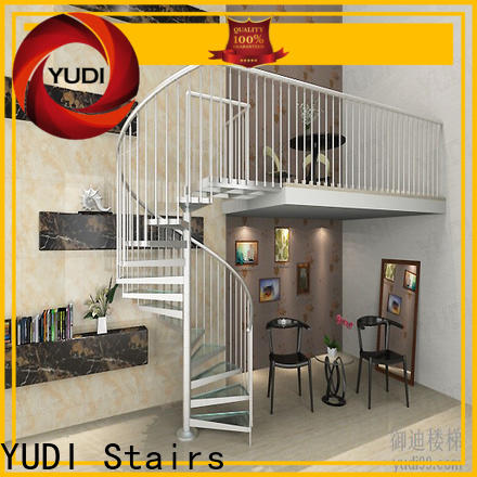 YUDI Stairs High-quality modern spiral staircase factory for home