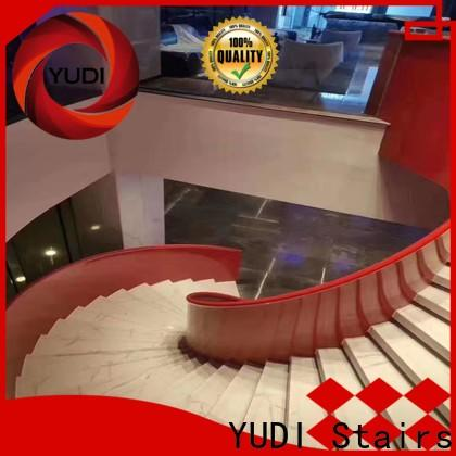 YUDI Stairs curved staircase factory price for house