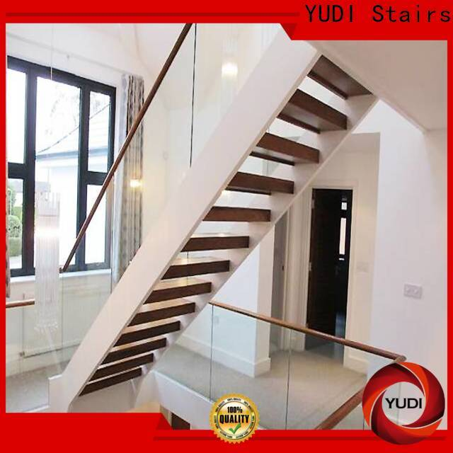 YUDI Stairs modern u shaped staircase wholesale for public project