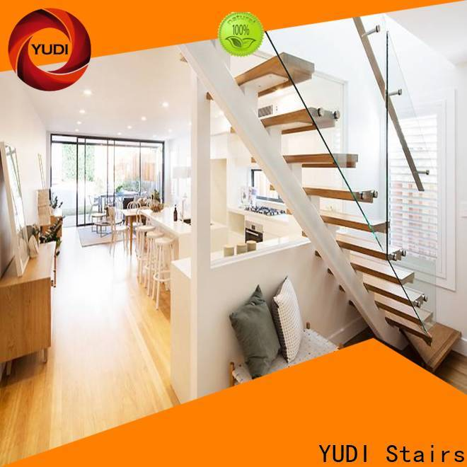 YUDI Stairs straight flight staircase cost for commercial use