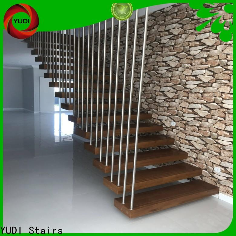 Top floating wood steps manufacturers for hotel