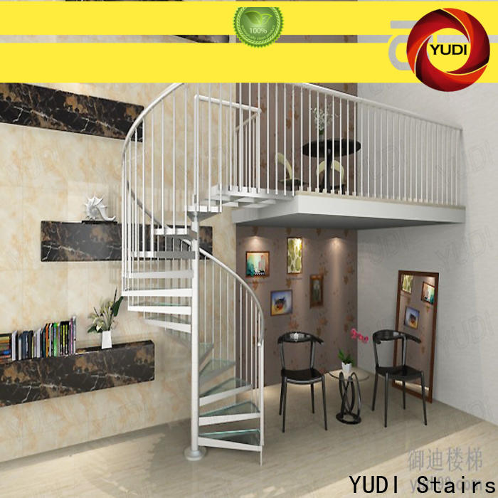 YUDI Stairs commercial spiral staircase factory for house