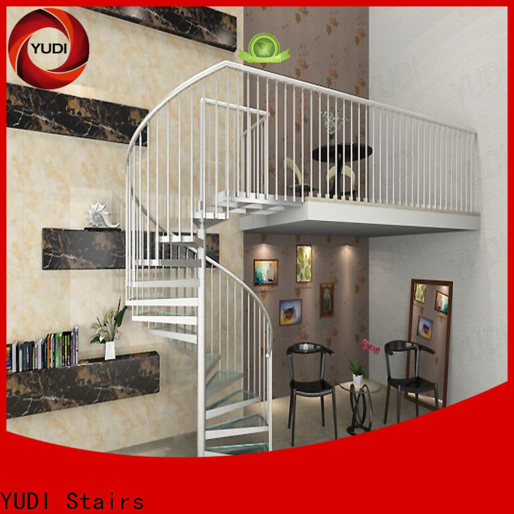 YUDI Stairs Custom spiral staircase cost price for home