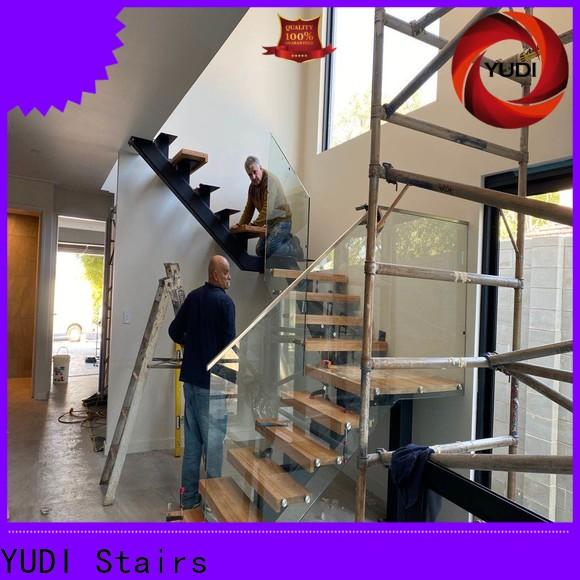 YUDI Stairs High-quality best stairs design factory for villa