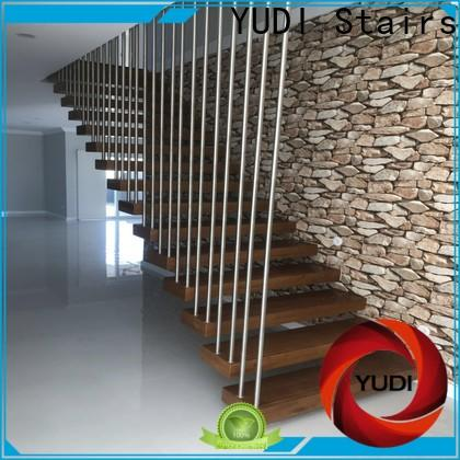 YUDI Stairs floating spiral staircase factory price for apartment