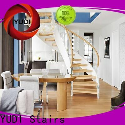 Customized space saving stairs factory price for aprtment