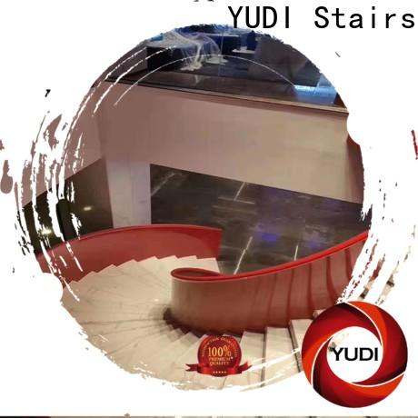 YUDI Stairs custom curved stairs cost for house