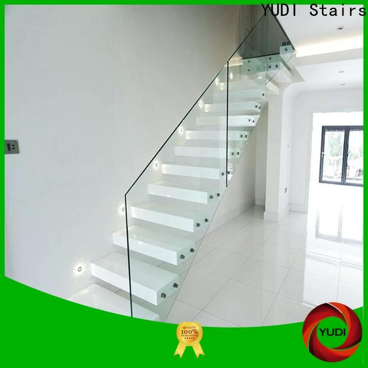YUDI Stairs floating stairs vendor for hotel