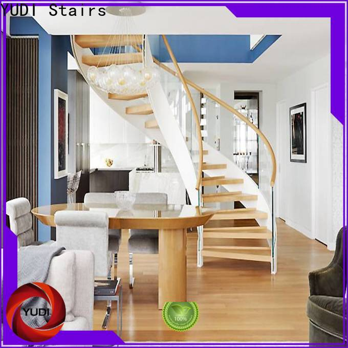 YUDI Stairs Quality half round stairs for house