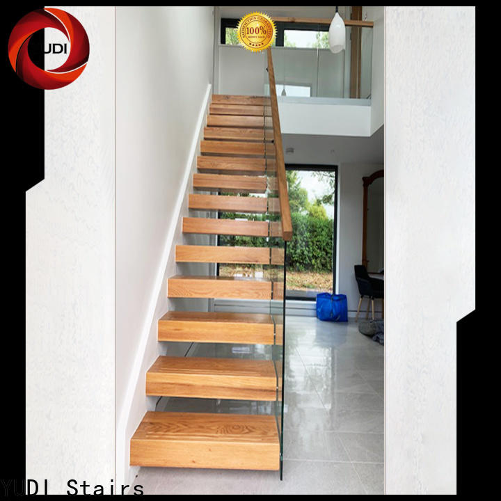 YUDI Stairs floating stair kit factory for apartment