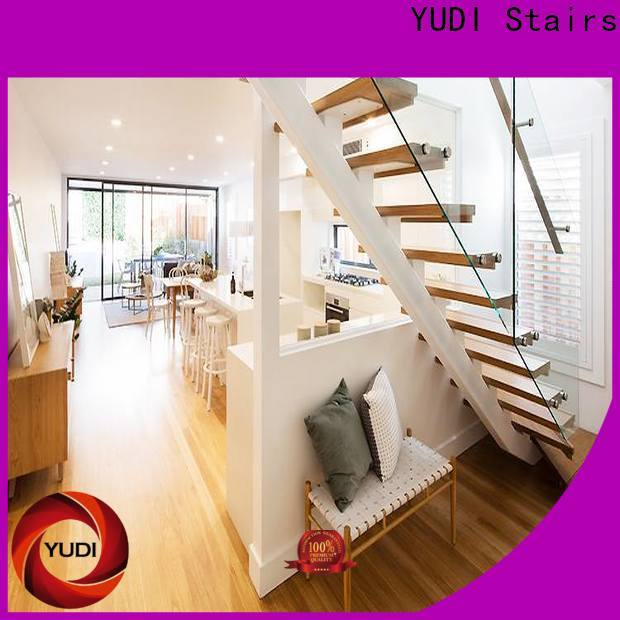 YUDI Stairs New straight stairs manufacturers for aprtment