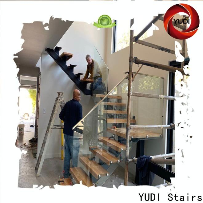 YUDI Stairs Custom internal stairs design wholesale for aprtment