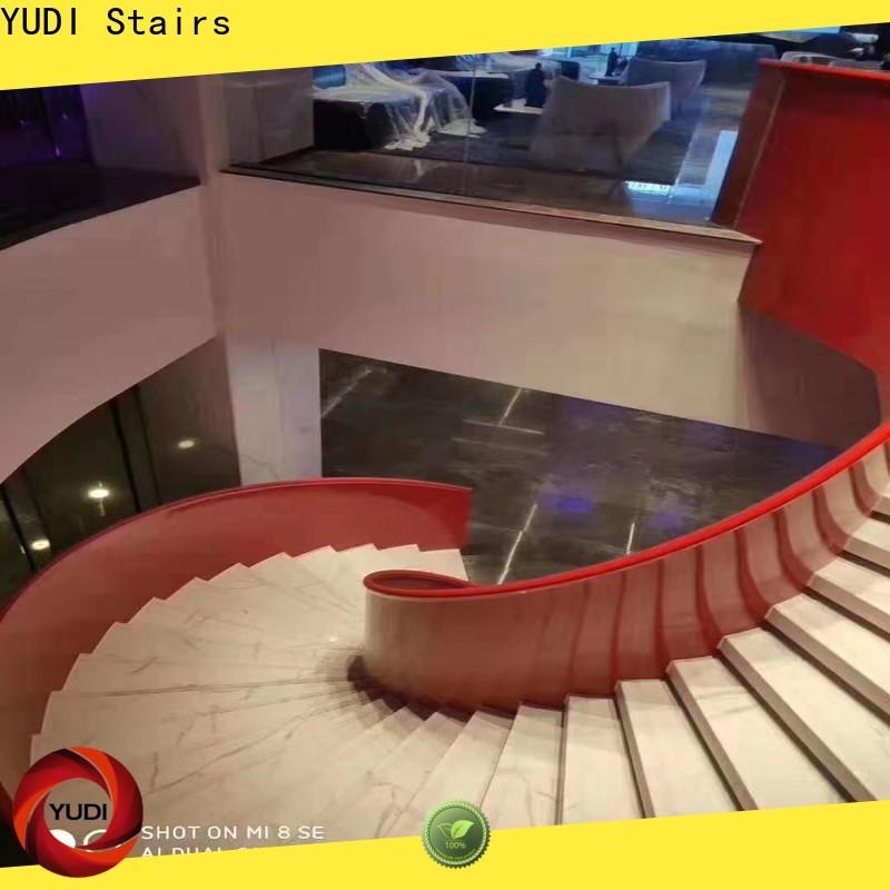 YUDI Stairs curved stairs price for indoor