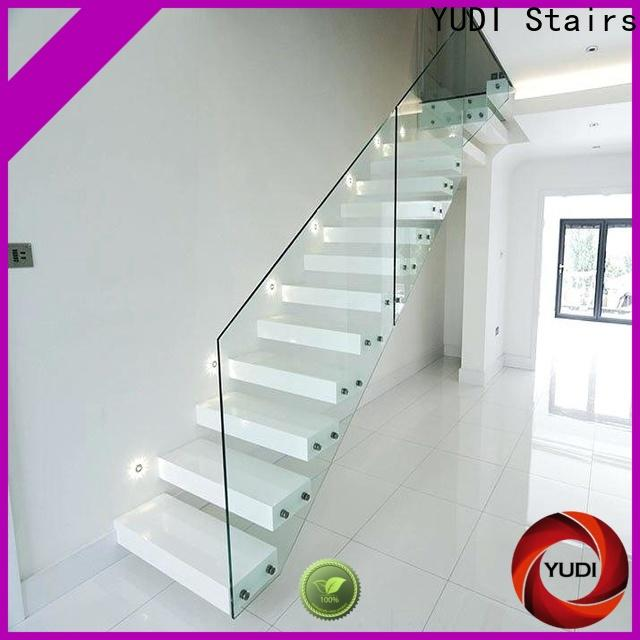 YUDI Stairs High-quality building floating stairs for apartment