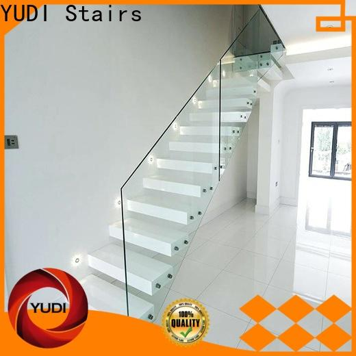 High-quality building floating stairs price