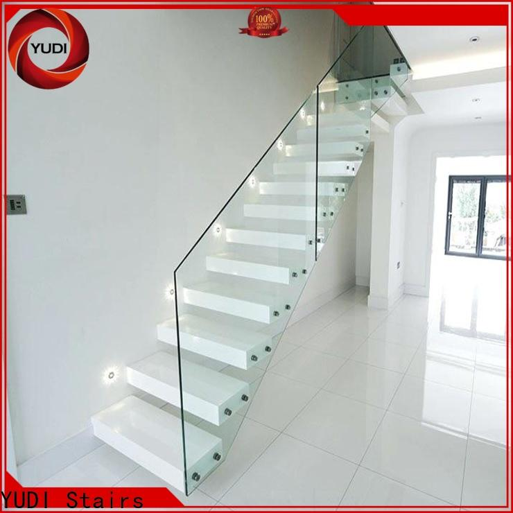 YUDI Stairs steel floating stairs wholesale