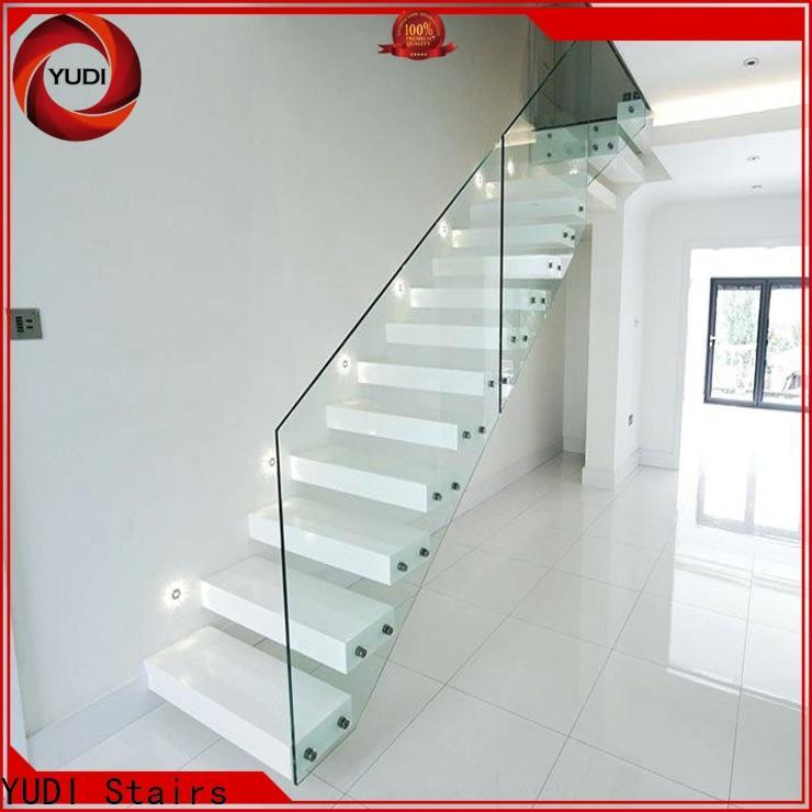 YUDI Stairs steel floating stairs wholesale