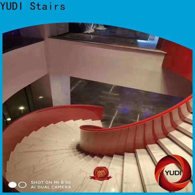 Top half round stairs manufacturers for indoor