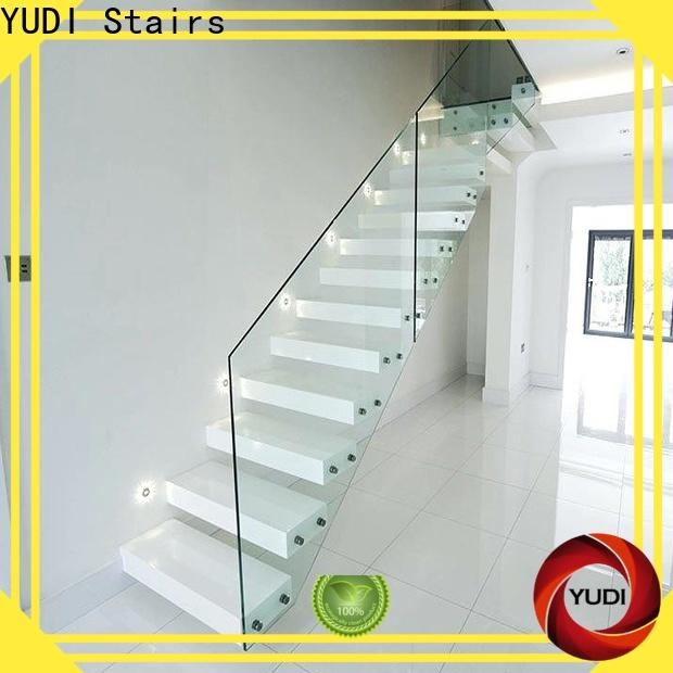 YUDI Stairs floating stairs for sale supply for hotel