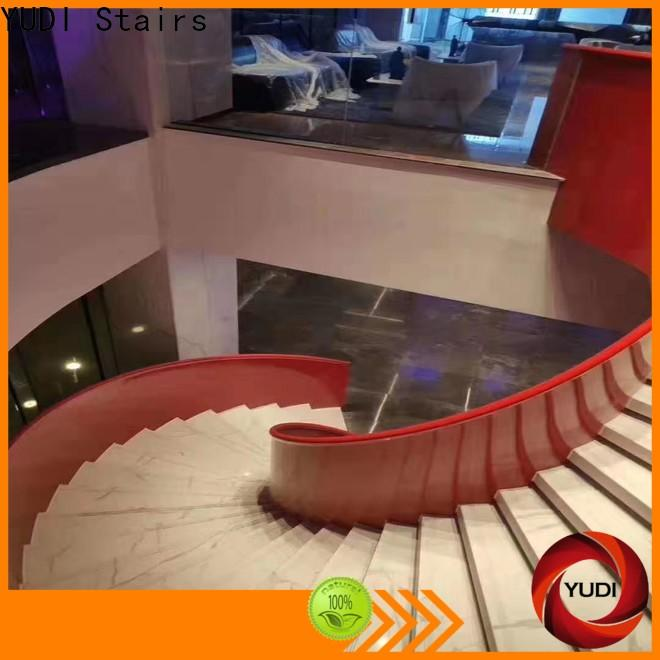 YUDI Stairs curved stairs factory price for indoor