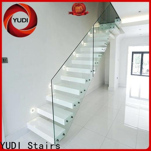 YUDI Stairs floating spiral staircase price for hotel