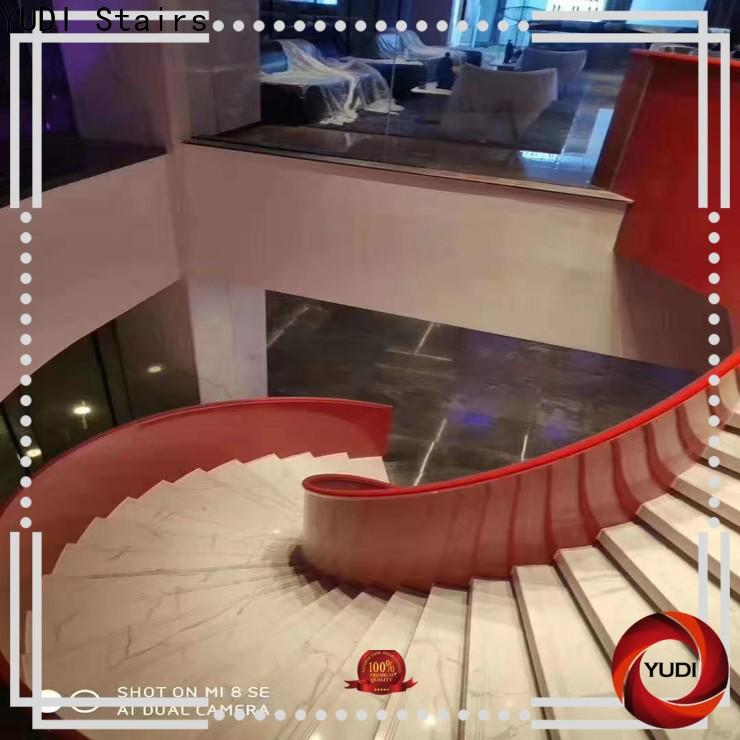 YUDI Stairs curved stairs vendor for house