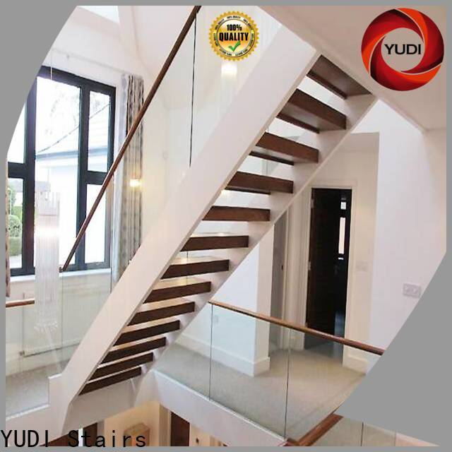 YUDI Stairs u shaped stairs with landing factory for home