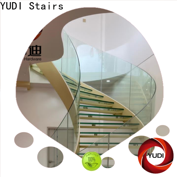 YUDI Stairs New custom curved stairs factory for aprtment