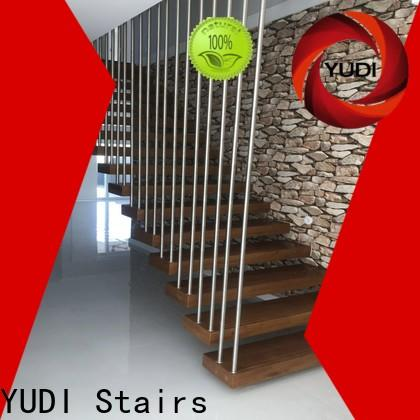 YUDI Stairs High-quality floating stair kit company for villa