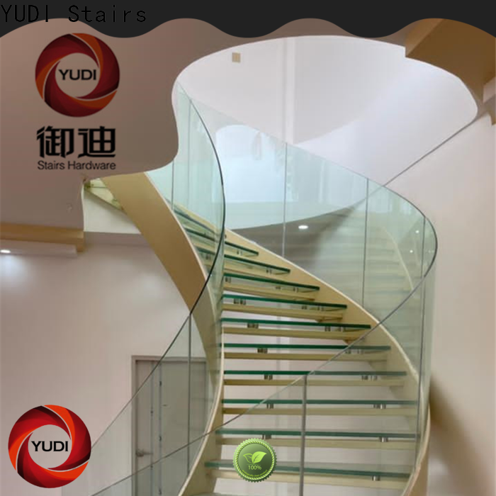 YUDI Stairs custom curved stairs wholesale for aprtment