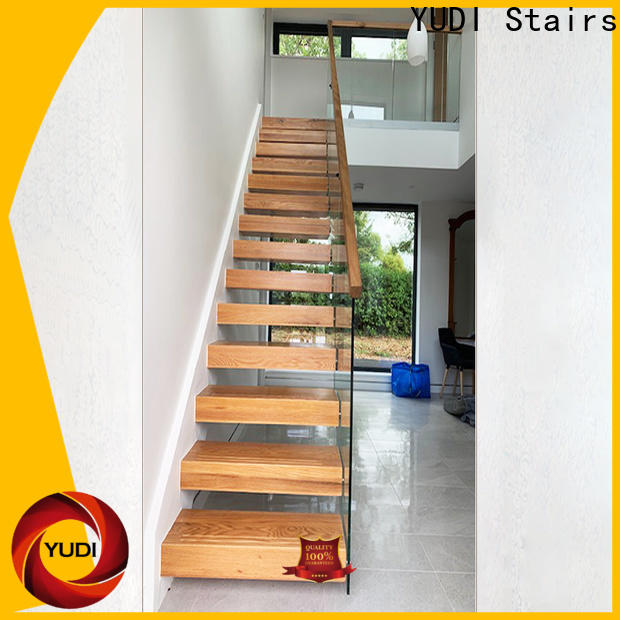 High-quality floating spiral staircase wholesale for office building